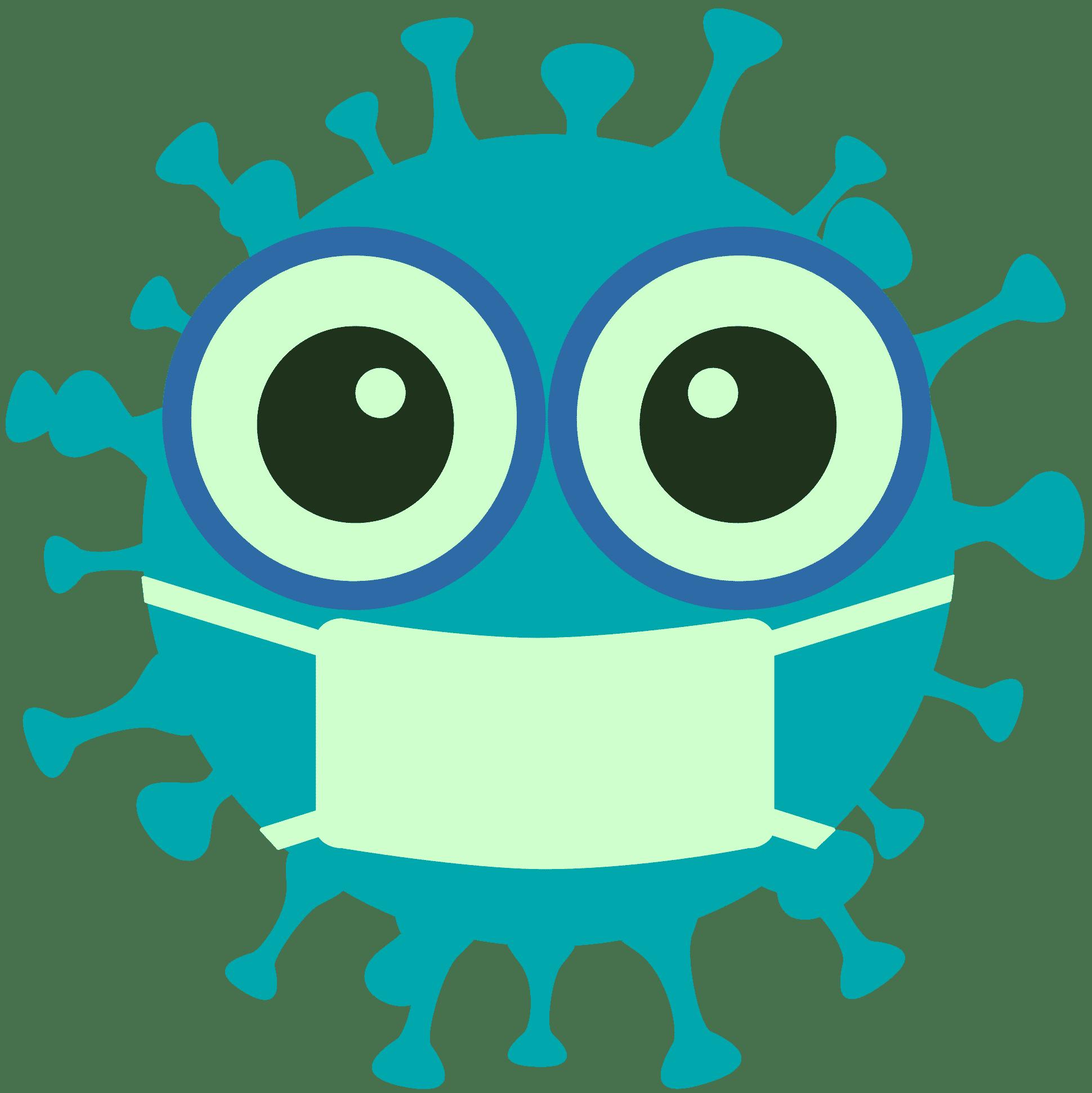 Corona Icon - Symbolbild