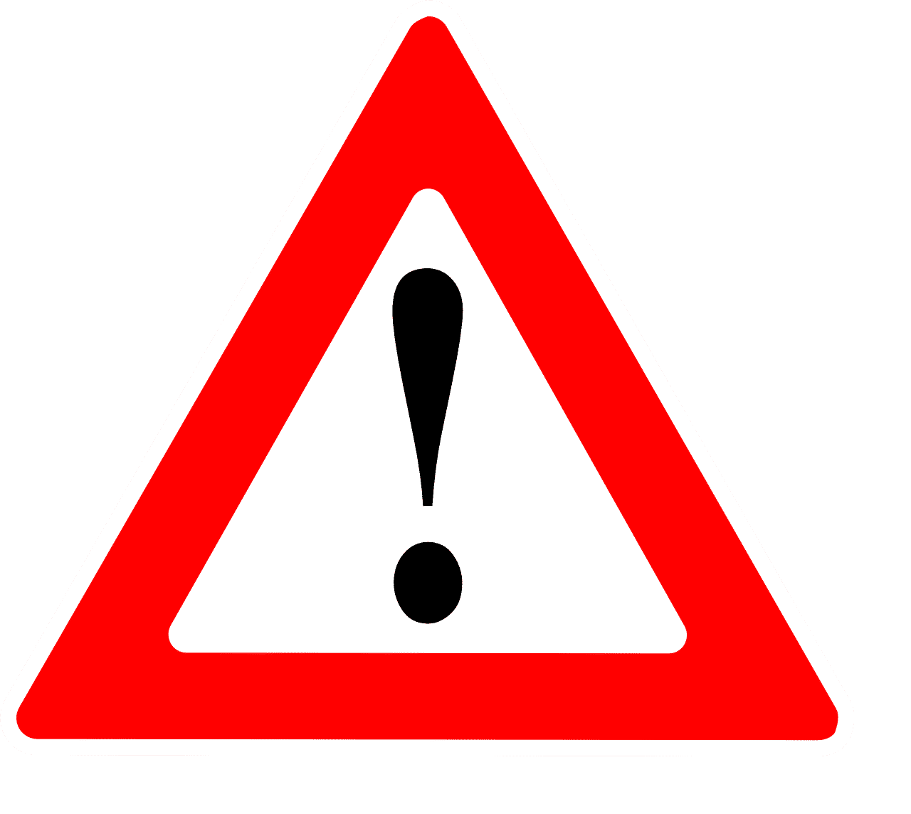 Attention Warning Sign Danger  - Clker-Free-Vector-Images / Pixabay